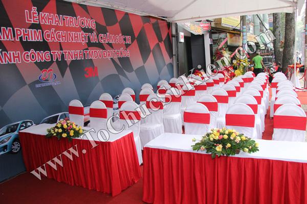 Tổ chức sự kiện Lễ khai trương Trung tâm phim cách nhiệt 3M và chăm sóc xe - Công ty Đại Thống - 04