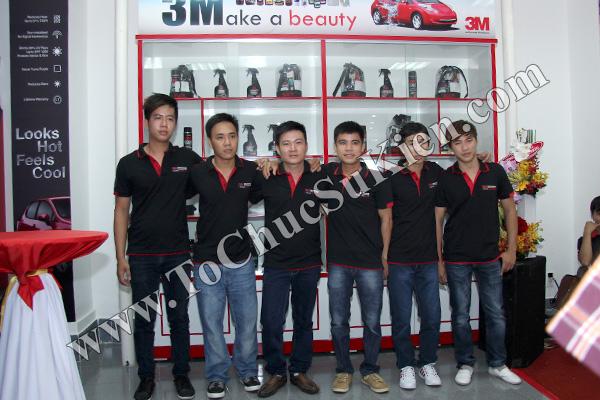 Tổ chức sự kiện Lễ khai trương Trung tâm phim cách nhiệt 3M và chăm sóc xe - Công ty Đại Thống - 07