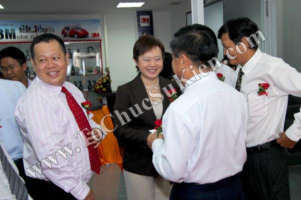 Tổ chức sự kiện Lễ khai trương Trung tâm phim cách nhiệt 3M và chăm sóc xe - Công ty Đại Thống - 08