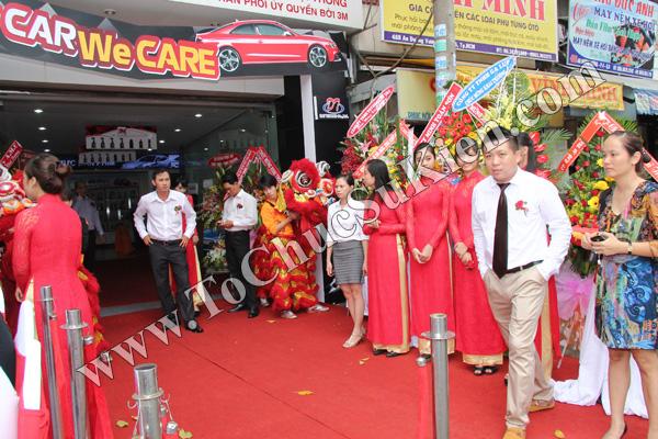 Tổ chức sự kiện Lễ khai trương Trung tâm phim cách nhiệt 3M và chăm sóc xe - Công ty Đại Thống - 10
