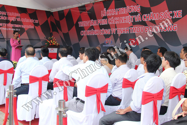Tổ chức sự kiện Lễ khai trương Trung tâm phim cách nhiệt 3M và chăm sóc xe - Công ty Đại Thống - 11