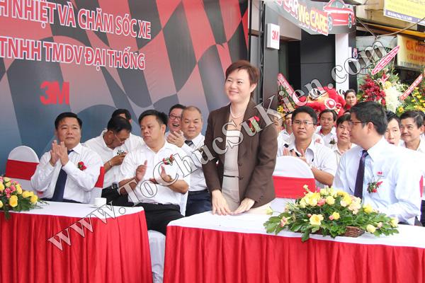 Tổ chức sự kiện Lễ khai trương Trung tâm phim cách nhiệt 3M và chăm sóc xe - Công ty Đại Thống - 12