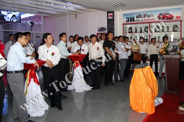Tổ chức sự kiện Lễ khai trương Trung tâm phim cách nhiệt 3M và chăm sóc xe - Công ty Đại Thống - 16