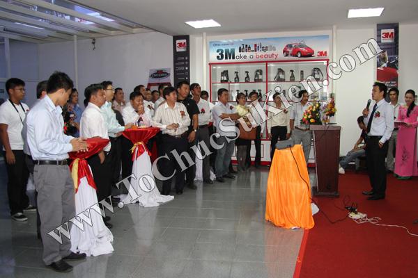 Tổ chức sự kiện Lễ khai trương Trung tâm phim cách nhiệt 3M và chăm sóc xe - Công ty Đại Thống - 17