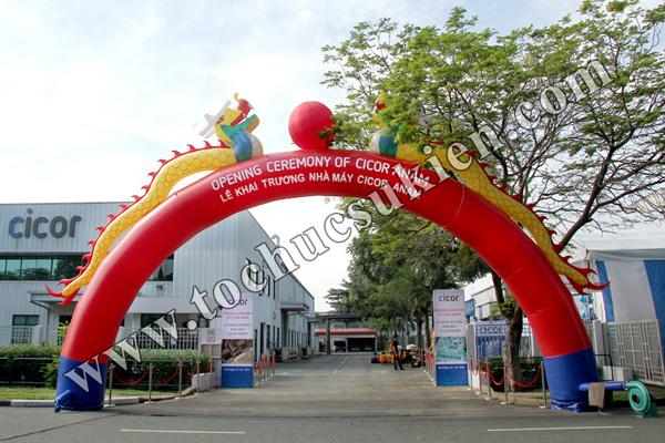 Tổ chức sự kiện Lễ khai trương Nhà máy CICOR ANAM - tại KCN VIệt Nam - Singapore VSIP1 - 01