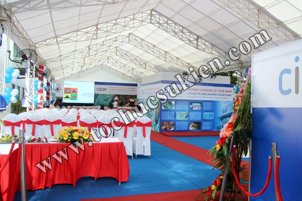 Tổ chức sự kiện Lễ khai trương Nhà máy CICOR ANAM - tại KCN VIệt Nam - Singapore VSIP1 - 04
