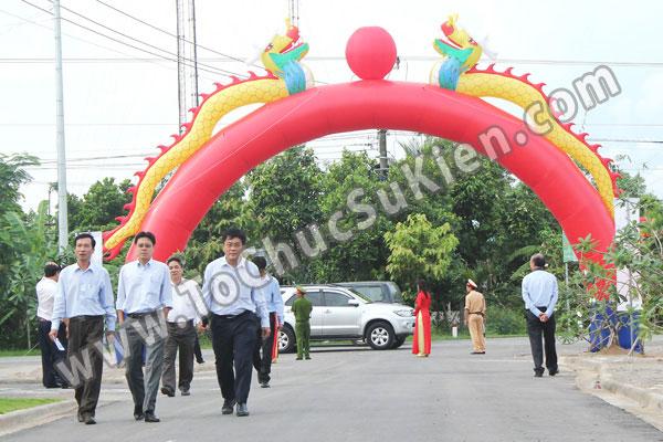 Tổ chức sự kiện Lễ gắn biển công trình Đường dây 220KV - Vĩnh Long - Trà Vinh - Trạm biến áp 220/110KV Trà Vinh - 06