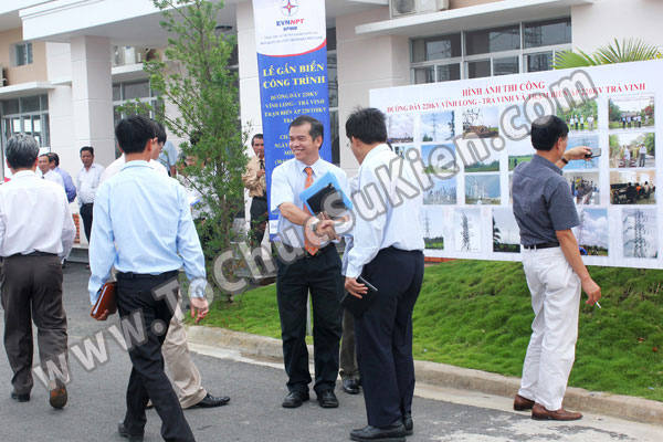 Tổ chức sự kiện Lễ gắn biển công trình Đường dây 220KV - Vĩnh Long - Trà Vinh - Trạm biến áp 220/110KV Trà Vinh - 07
