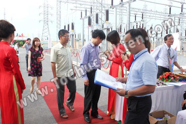 Tổ chức sự kiện Lễ gắn biển công trình Đường dây 220KV - Vĩnh Long - Trà Vinh - Trạm biến áp 220/110KV Trà Vinh - 09