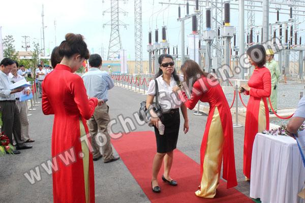 Tổ chức sự kiện Lễ gắn biển công trình Đường dây 220KV - Vĩnh Long - Trà Vinh - Trạm biến áp 220/110KV Trà Vinh - 10