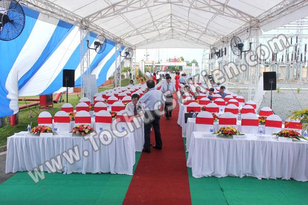 Tổ chức sự kiện Lễ gắn biển công trình Đường dây 220KV - Vĩnh Long - Trà Vinh - Trạm biến áp 220/110KV Trà Vinh - 12