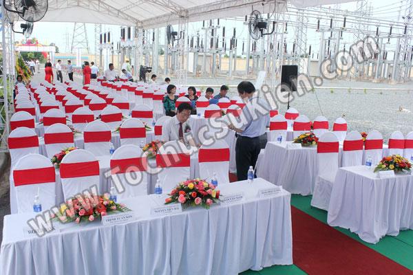 Tổ chức sự kiện Lễ gắn biển công trình Đường dây 220KV - Vĩnh Long - Trà Vinh - Trạm biến áp 220/110KV Trà Vinh - 13