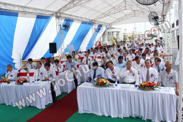 Tổ chức sự kiện Lễ gắn biển công trình Đường dây 220KV - Vĩnh Long - Trà Vinh - Trạm biến áp 220/110KV Trà Vinh - 14