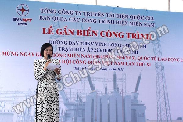 Tổ chức sự kiện Lễ gắn biển công trình Đường dây 220KV - Vĩnh Long - Trà Vinh - Trạm biến áp 220/110KV Trà Vinh - 15