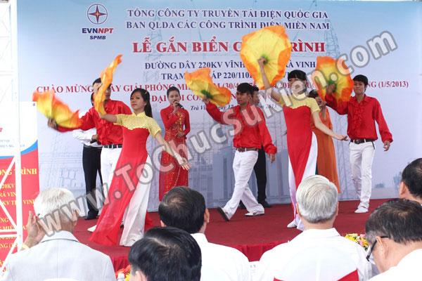 Tổ chức sự kiện Lễ gắn biển công trình Đường dây 220KV - Vĩnh Long - Trà Vinh - Trạm biến áp 220/110KV Trà Vinh - 16