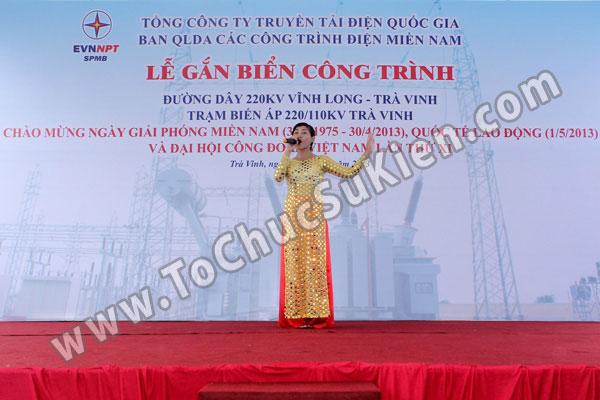 Tổ chức sự kiện Lễ gắn biển công trình Đường dây 220KV - Vĩnh Long - Trà Vinh - Trạm biến áp 220/110KV Trà Vinh - 18