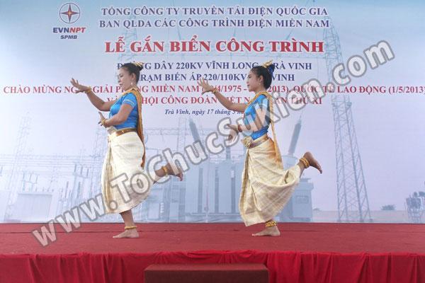 Tổ chức sự kiện Lễ gắn biển công trình Đường dây 220KV - Vĩnh Long - Trà Vinh - Trạm biến áp 220/110KV Trà Vinh - 19