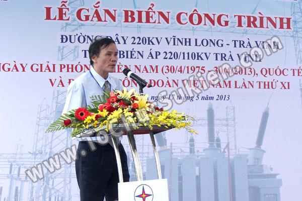 Tổ chức sự kiện Lễ gắn biển công trình Đường dây 220KV - Vĩnh Long - Trà Vinh - Trạm biến áp 220/110KV Trà Vinh - 20