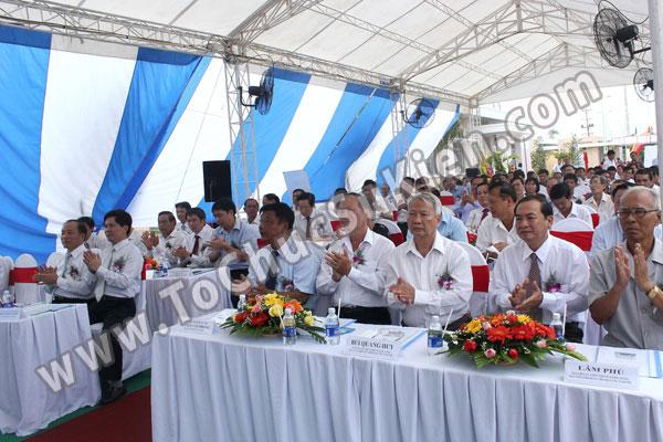 Tổ chức sự kiện Lễ gắn biển công trình Đường dây 220KV - Vĩnh Long - Trà Vinh - Trạm biến áp 220/110KV Trà Vinh - 21