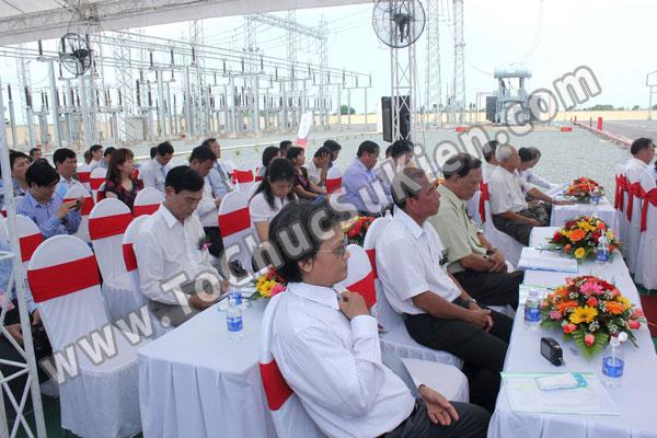 Tổ chức sự kiện Lễ gắn biển công trình Đường dây 220KV - Vĩnh Long - Trà Vinh - Trạm biến áp 220/110KV Trà Vinh - 23
