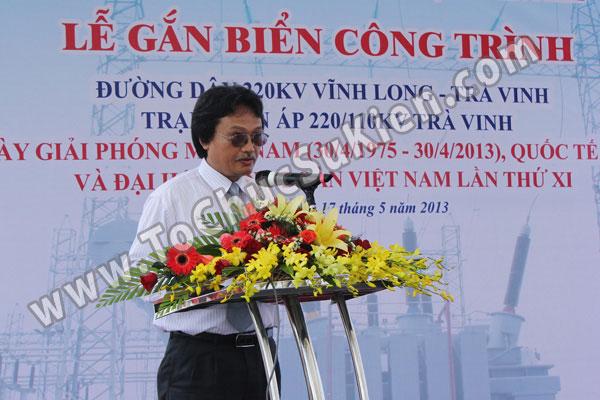 Tổ chức sự kiện Lễ gắn biển công trình Đường dây 220KV - Vĩnh Long - Trà Vinh - Trạm biến áp 220/110KV Trà Vinh - 26