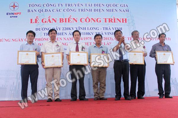 Tổ chức sự kiện Lễ gắn biển công trình Đường dây 220KV - Vĩnh Long - Trà Vinh - Trạm biến áp 220/110KV Trà Vinh - 27