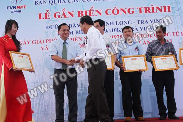 Tổ chức sự kiện Lễ gắn biển công trình Đường dây 220KV - Vĩnh Long - Trà Vinh - Trạm biến áp 220/110KV Trà Vinh - 28