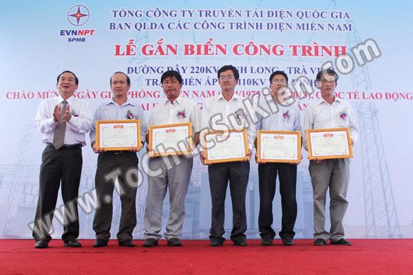 Tổ chức sự kiện Lễ gắn biển công trình Đường dây 220KV - Vĩnh Long - Trà Vinh - Trạm biến áp 220/110KV Trà Vinh - 29
