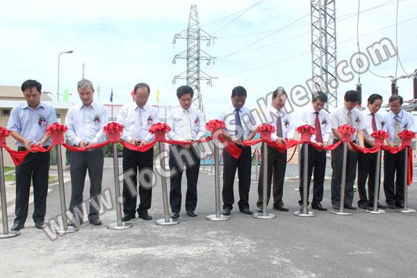Tổ chức sự kiện Lễ gắn biển công trình Đường dây 220KV - Vĩnh Long - Trà Vinh - Trạm biến áp 220/110KV Trà Vinh - 30