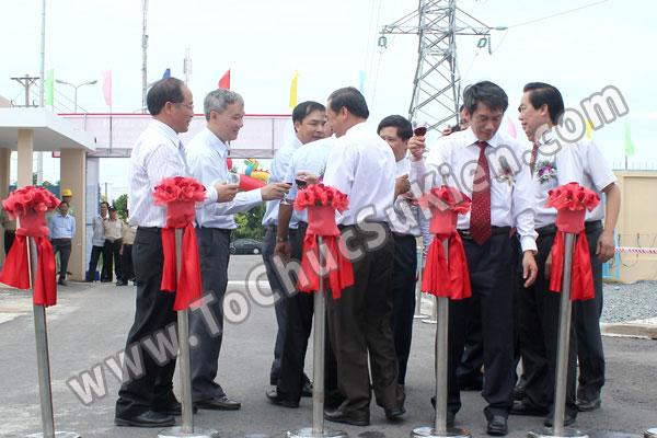 Tổ chức sự kiện Lễ gắn biển công trình Đường dây 220KV - Vĩnh Long - Trà Vinh - Trạm biến áp 220/110KV Trà Vinh - 32