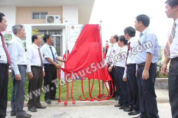 Tổ chức sự kiện Lễ gắn biển công trình Đường dây 220KV - Vĩnh Long - Trà Vinh - Trạm biến áp 220/110KV Trà Vinh - 33