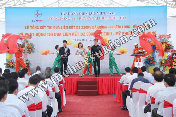 Tổ chức sự kiện Lễ Tổng kết thi đua liên kết ĐZ 220KV220KV Đăk Nông -Phước Long - Bình Long và Phát động thi đua liên kết ĐZ 500KV Pleiku -Mỹ Phước - Cầu Bông - Tập đoàn Điện lực Việt Nam - 09
