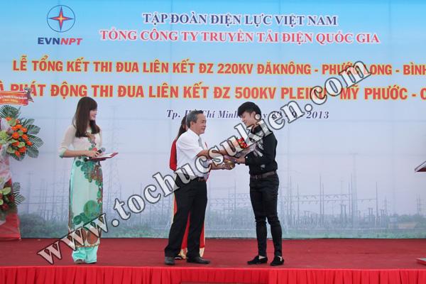 Tổ chức sự kiện Lễ Tổng kết thi đua liên kết ĐZ 220KV220KV Đăk Nông -Phước Long - Bình Long và Phát động thi đua liên kết ĐZ 500KV Pleiku -Mỹ Phước - Cầu Bông - Tập đoàn Điện lực Việt Nam - 10