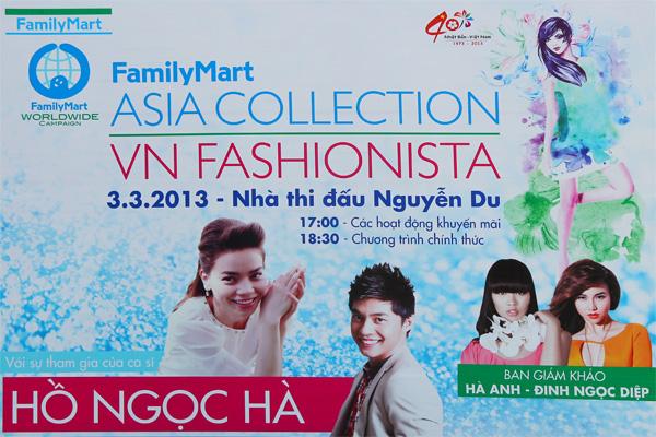Tổ chức sự kiện Lễ hội thời trang Family Mart Asia Collection VN Fashionista - 01