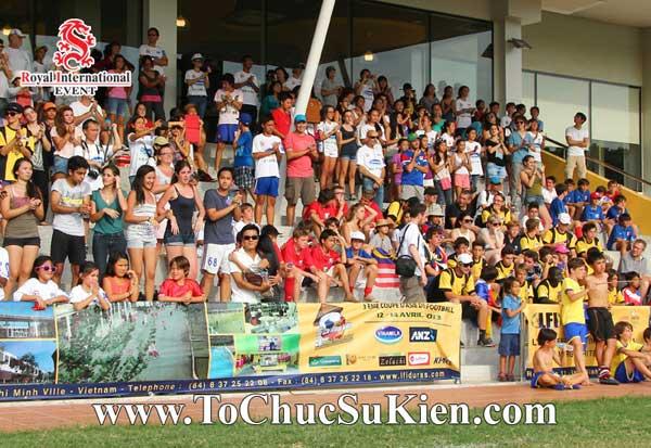 Tổ chức sự kiện - Cung cấp thiết bị - nhân sự cho Giải bóng đá các trường Pháp quốc Tế International Marguerite Duras - 01