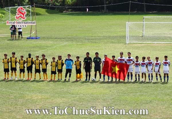 Tổ chức sự kiện - Cung cấp thiết bị - nhân sự cho Giải bóng đá các trường Pháp quốc Tế International Marguerite Duras - 02
