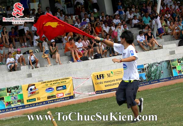 Tổ chức sự kiện - Cung cấp thiết bị - nhân sự cho Giải bóng đá các trường Pháp quốc Tế International Marguerite Duras - 07