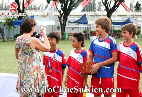 Tổ chức sự kiện - Cung cấp thiết bị - nhân sự cho Giải bóng đá các trường Pháp quốc Tế International Marguerite Duras - 17