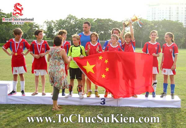 Tổ chức sự kiện - Cung cấp thiết bị - nhân sự cho Giải bóng đá các trường Pháp quốc Tế International Marguerite Duras - 21