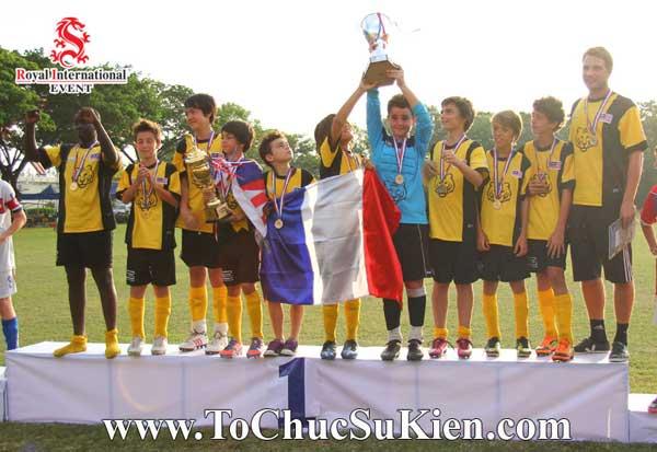 Tổ chức sự kiện - Cung cấp thiết bị - nhân sự cho Giải bóng đá các trường Pháp quốc Tế International Marguerite Duras - 23