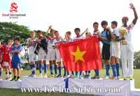 Tổ chức sự kiện - Cung cấp thiết bị - nhân sự cho Giải bóng đá các trường Pháp quốc Tế International Marguerite Duras