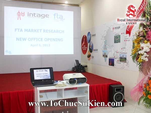 Tổ chức sự kiện Lễ khai trương văn phòng mới Công ty Nghiên cứu thị trường FTA - 03