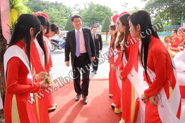 Tổ chức sự kiện Lễ khai trương Văn phòng Kinh doanh Kiên Giang - Cty Bảo hiểm Hanwha Life Việt Nam - 05