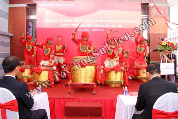 Tổ chức sự kiện Lễ khai trương Văn phòng Kinh doanh Kiên Giang - Cty Bảo hiểm Hanwha Life Việt Nam - 08