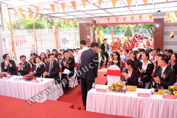 Tổ chức sự kiện Lễ khai trương Văn phòng Kinh doanh Kiên Giang - Cty Bảo hiểm Hanwha Life Việt Nam - 10