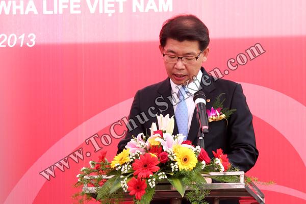 Tổ chức sự kiện Lễ khai trương Văn phòng Kinh doanh Kiên Giang - Cty Bảo hiểm Hanwha Life Việt Nam - 12