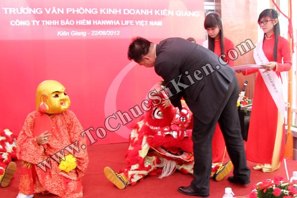 Tổ chức sự kiện Lễ khai trương Văn phòng Kinh doanh Kiên Giang - Cty Bảo hiểm Hanwha Life Việt Nam - 14