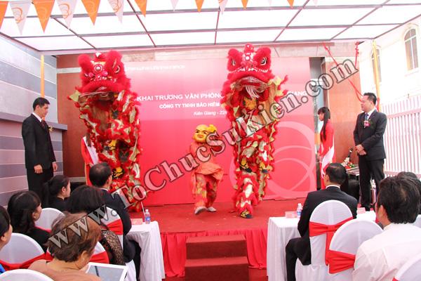 Tổ chức sự kiện Lễ khai trương Văn phòng Kinh doanh Kiên Giang - Cty Bảo hiểm Hanwha Life Việt Nam - 15