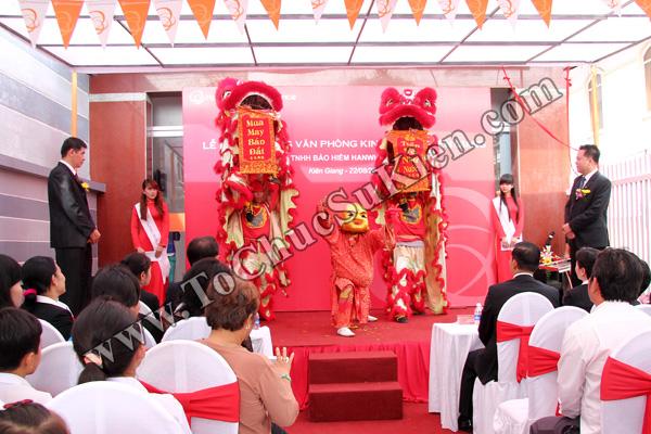 Tổ chức sự kiện Lễ khai trương Văn phòng Kinh doanh Kiên Giang - Cty Bảo hiểm Hanwha Life Việt Nam - 17