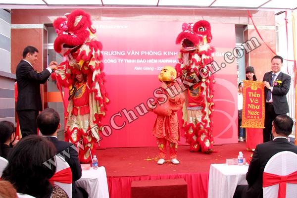 Tổ chức sự kiện Lễ khai trương Văn phòng Kinh doanh Kiên Giang - Cty Bảo hiểm Hanwha Life Việt Nam - 18